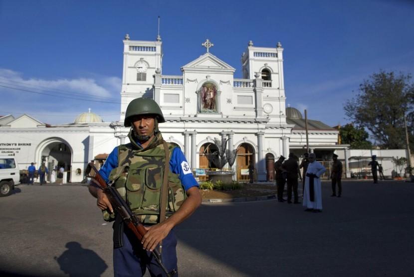 Polisi Sri Lanka Masih Mencari 140 Tersangka Dengan Ikatan ISIS