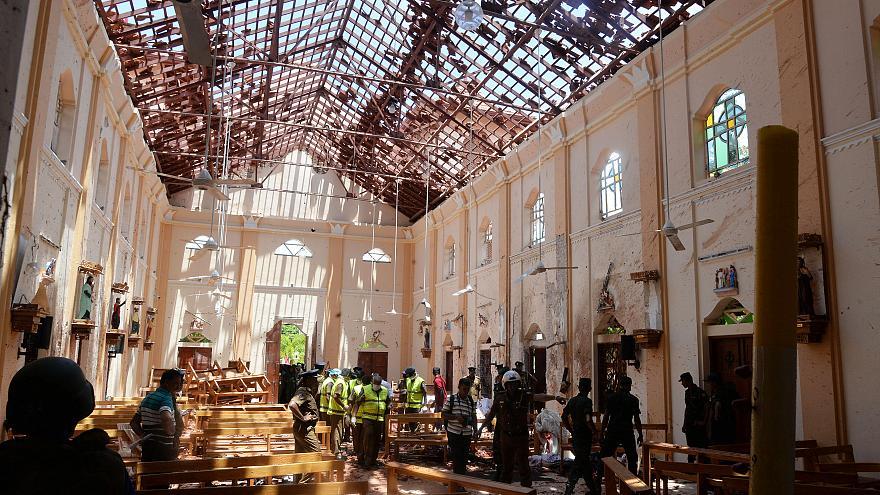 Terjadi Ledakan di Gereja dan Hotel di Sri Lanka